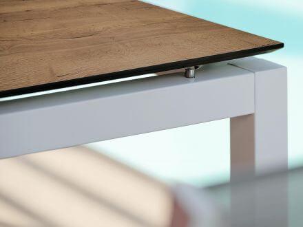 Vorschau: Stern Aluminium weiß mit Silverstar Touch Tundra Toffee