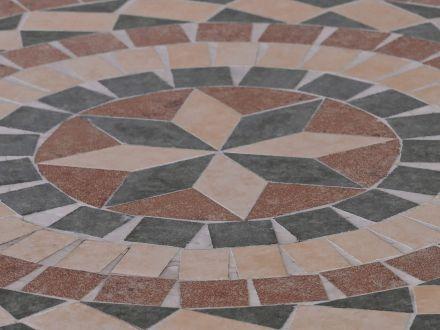 Vorschau: gardissimo Mosaik Gartentisch Cardiff Ø60cm