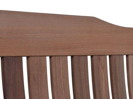 Vorschau: Holz-Gartenbank Coburg Detail