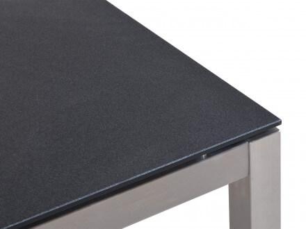 Vorschau: Detailbild Tischplatte in Steinoptik