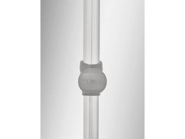 Gelenk für Höhenverstellung und 360°-Drehfunktion
