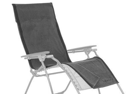 Lafuma Frotteeauflage/Handtuch anthrazit für Relaxliege