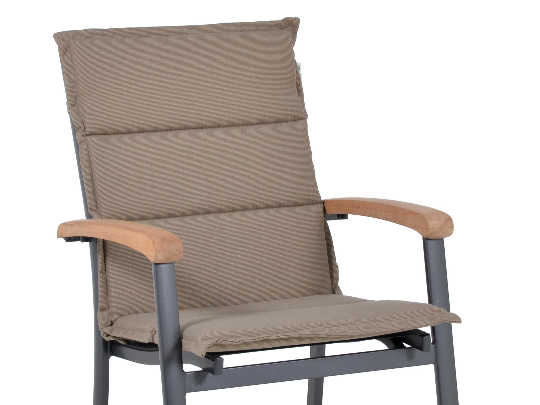 polsterauflage malibu f r alu niederlehner farbe sand. Black Bedroom Furniture Sets. Home Design Ideas