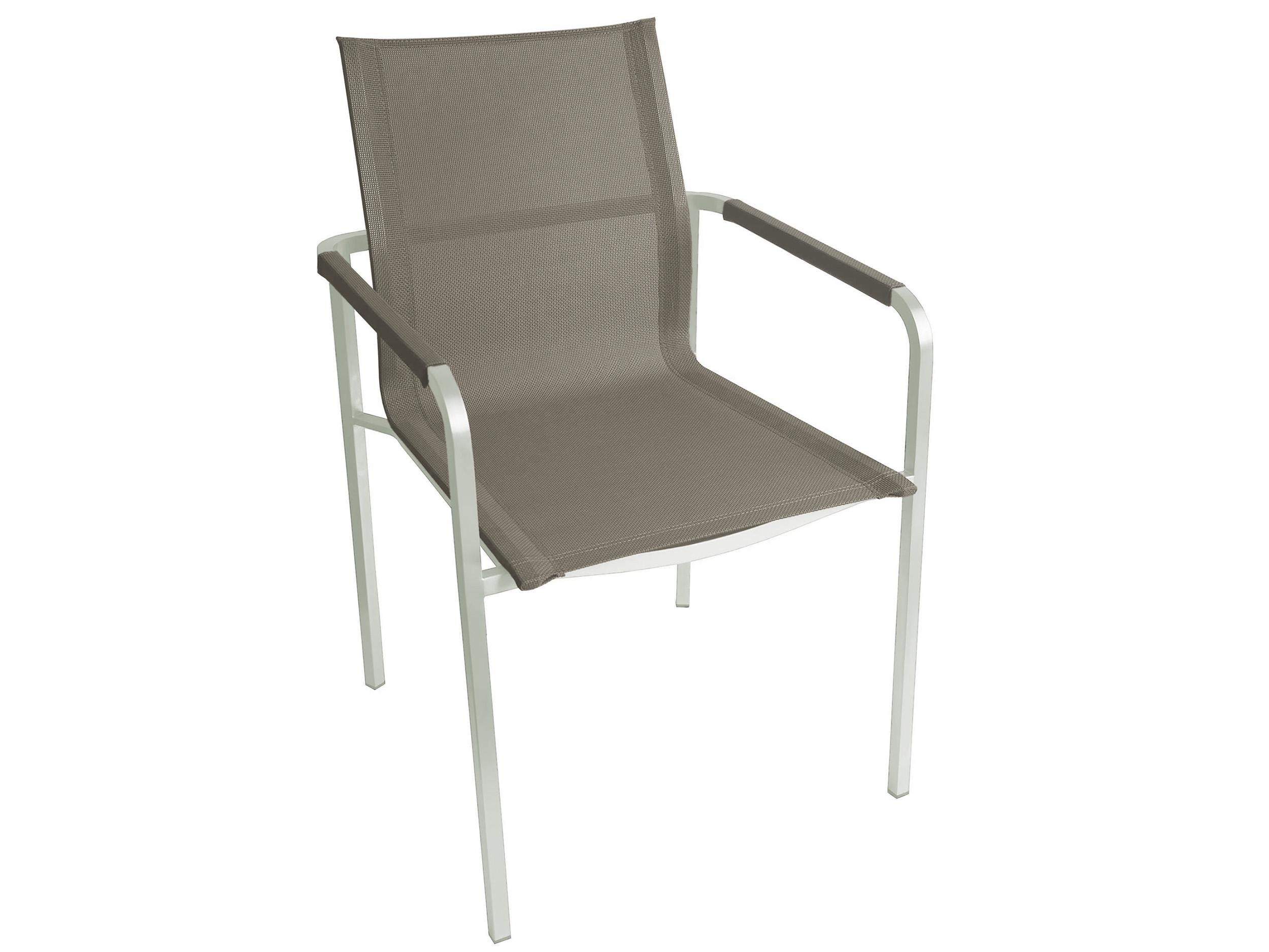 kettler stapelsessel feel edelstahl outdoorgewebe taupe gartenm bel l nse. Black Bedroom Furniture Sets. Home Design Ideas