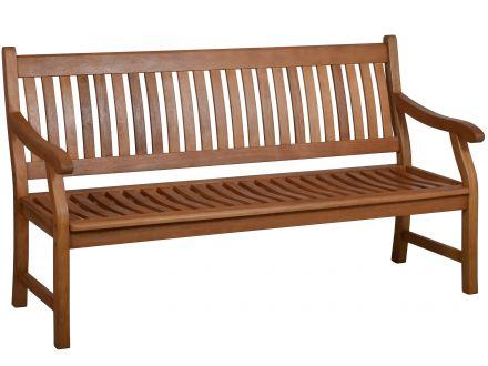 Holz Gartenbank New-England 160Cm - 2-Sitzer | Gartenmöbel Lünse