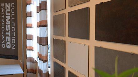 Keramik-Musterplatten von Zumsteg