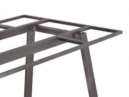 Vorschau: Lünse Tischgestell Locarno Edelstahl brushed 220x100cm