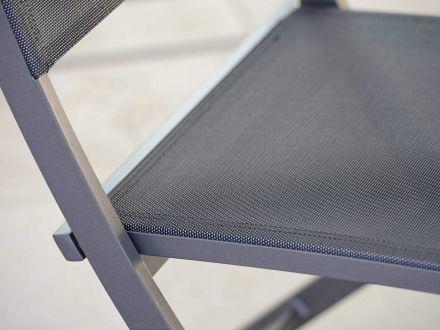 Vorschau: Detailbild Sitzfläche Farbe silbergrau