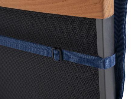 Vorschau: Auflage Malibu, verstellbares Halteband rückseitig
