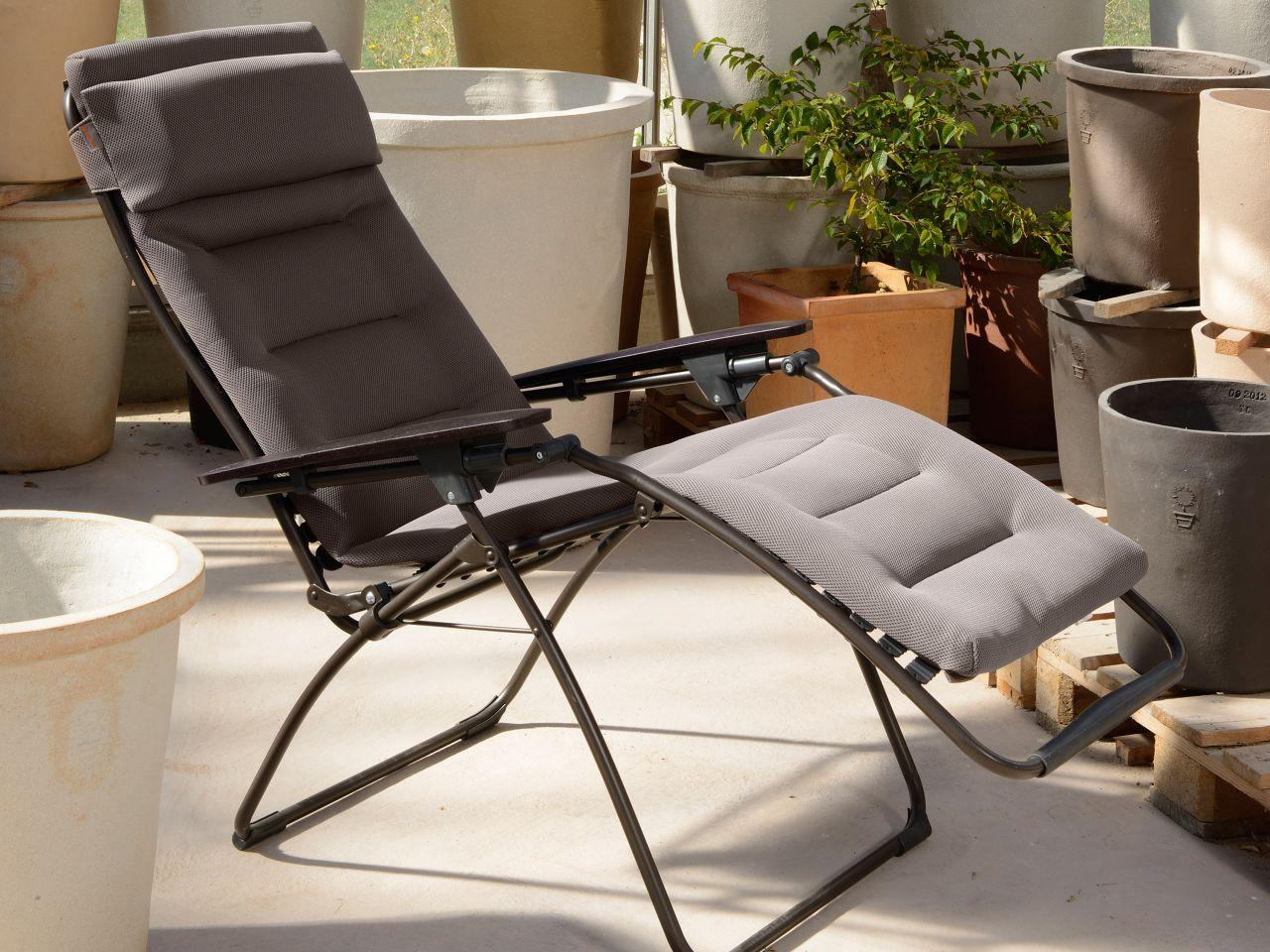 Relaxliege Futura Air Comfort taupe Ambientebild