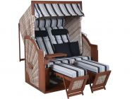 deVries Strandkorb PURE Comfort XL seashell Dessin 435