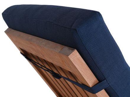 Vorschau: Lünse XL Liegenauflage Malibu Comfort denim-blue