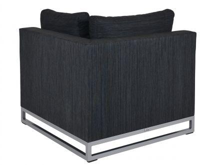 Vorschau: Outdoor Textil Lounge Legian - Eckmodul anthrazit