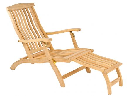 Alexander Rose Roble Holz Deckchair Steamer