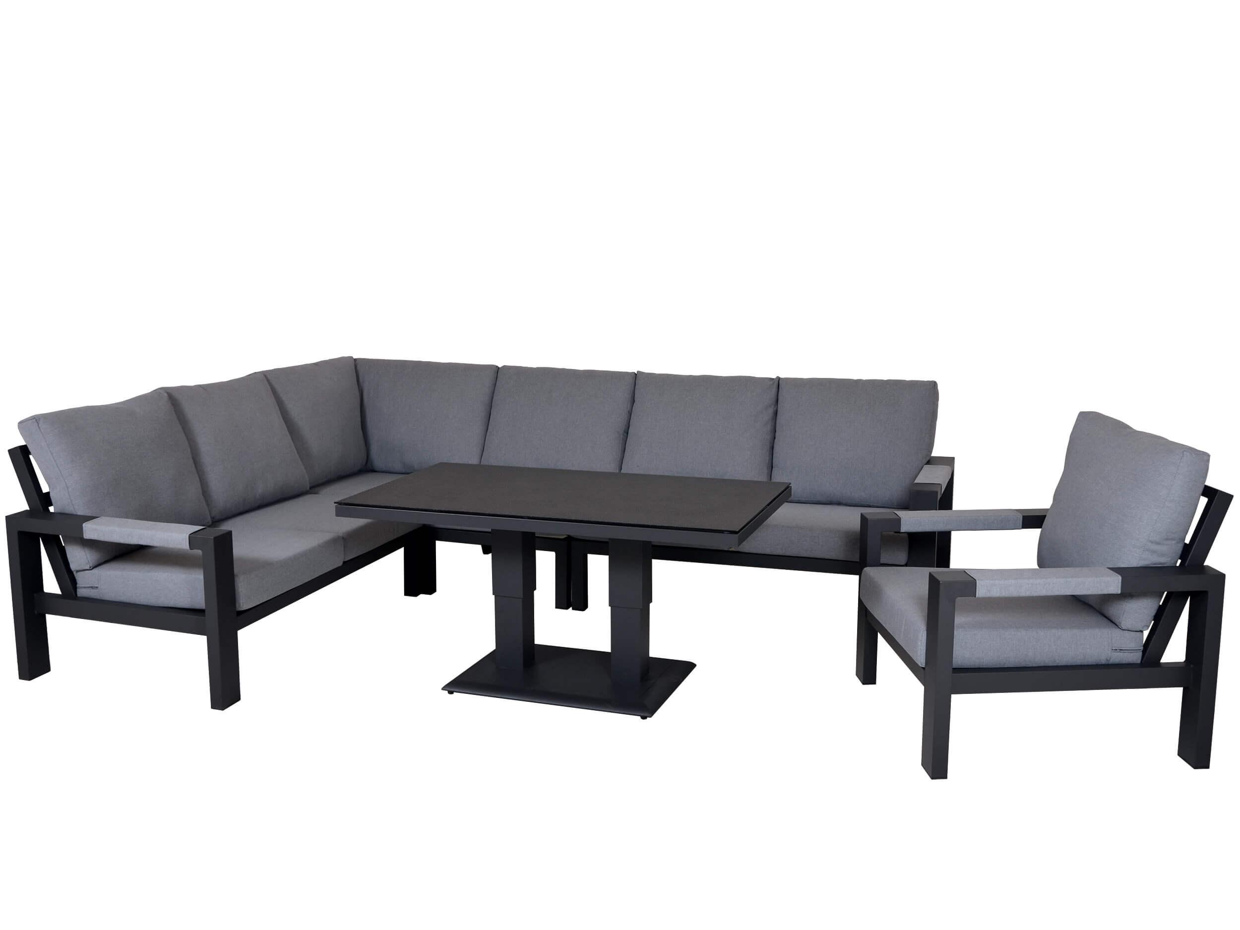 loungegruppen loungesets f r den garten gartenm bel l nse. Black Bedroom Furniture Sets. Home Design Ideas