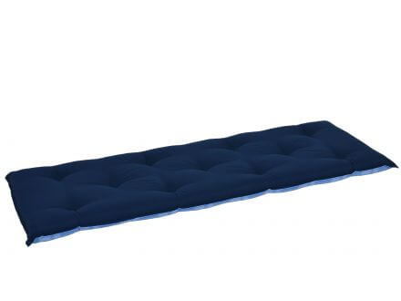 Vorschau: Wendepolster - Rückseite uni dunkelblau