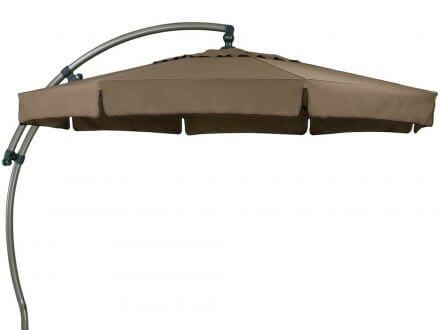 Sun Garden Ampelschirm Easy Sun Premium Ø350cm champagner/mocca