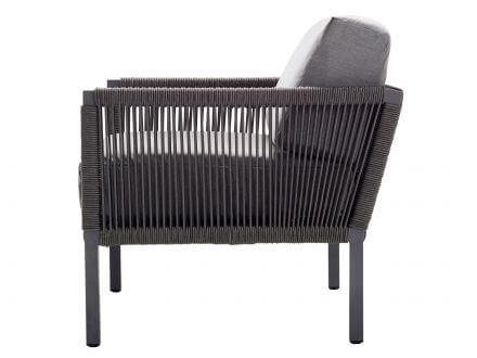 Vorschau: Club Lounge Sessel Seitenansicht