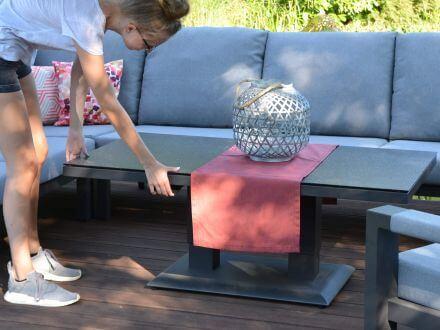 Vorschau: Lift-Tisch mit seitlichem Griff für Höhenverstellung