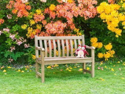 Vorschau: Alexander Rose Kinder Gartenbank Sherwood Broadfield 75cm