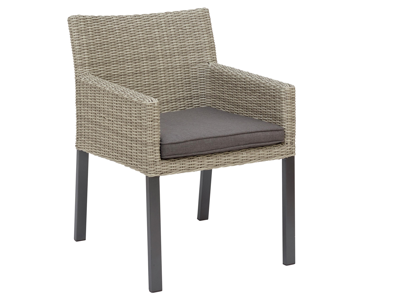 kettler bretagne dining sessel anthrazit white wash gartenm bel l nse. Black Bedroom Furniture Sets. Home Design Ideas