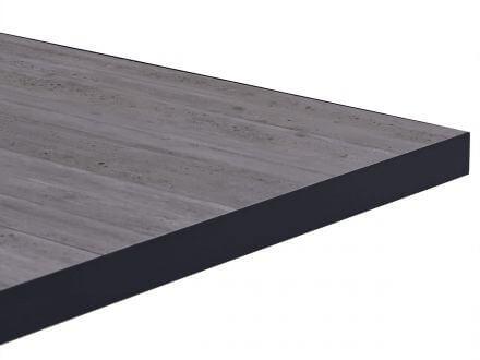 Vorschau: Lünse Alu Lift-Tisch Newport 160x90cm Keramik light-stone
