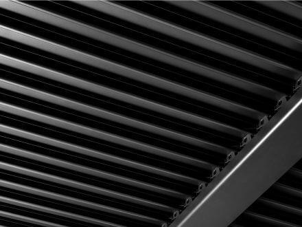 Vorschau: Suns Terrassendach Pavillon Maranza Matt Royal grey 360x350cm