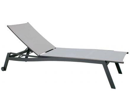 Stern Allround Rollenliege Aluminium/Textilen anthrazit/silber
