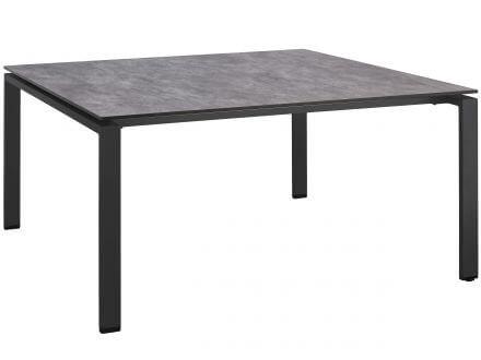 Kettler Dining-Tisch 150x150cm Aluminium-HPL anthrazit