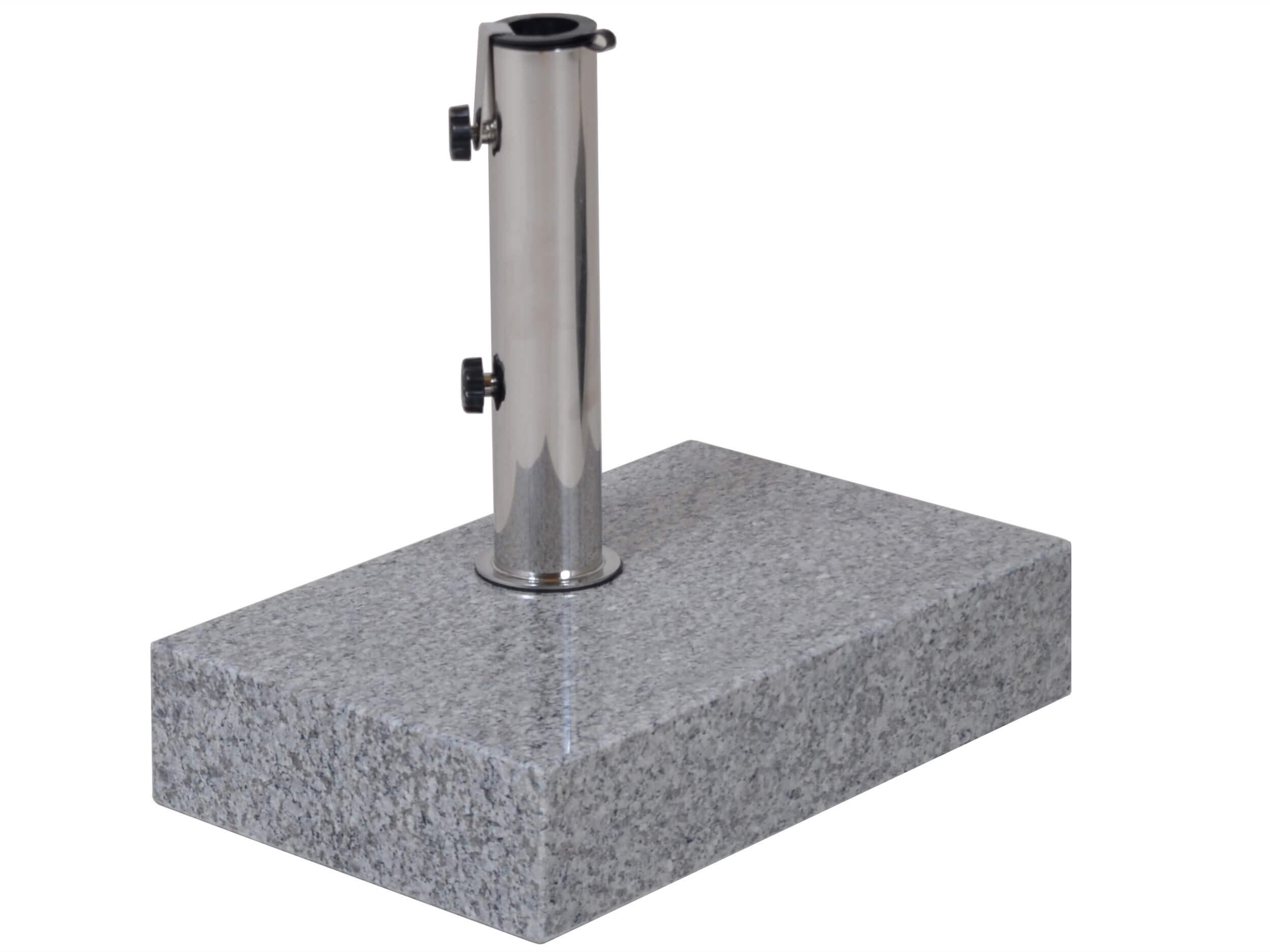 balkon sonnenschirmst nder 30kg granit grau gartenm bel. Black Bedroom Furniture Sets. Home Design Ideas