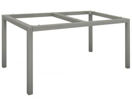 Vorschau: Stern Tischgestell Aluminium Vierkantrohr 130x80cm graphit