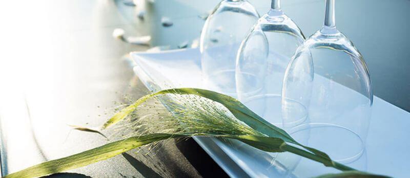 Gartentische mit Kunststoff-Tischplatte