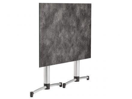 Vorschau: HPL Tischplatte mit Oberflächendekor Betonoptik