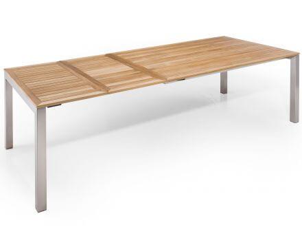 Vorschau: Tisch zweimal ausgezogen 260x100cm
