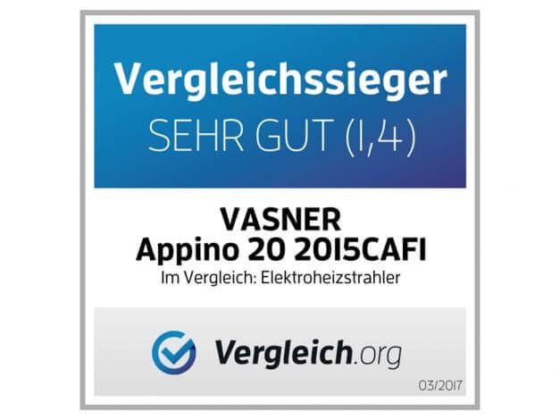 Infrarot-Heizstrahler Appino 20 Silver