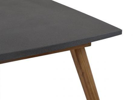 Vorschau: Polystone-Tischplatte in Betonoptik anthrazit