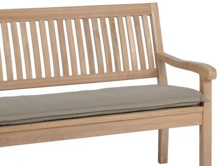 Vorschau: Bankauflage Malibu 2-Sitzer 110cm, Farbe: sand