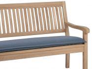 Bankauflage Malibu 2-Sitzer 110cm, Farbe: grey
