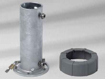 Glatz Standrohr M4 Profil PzS|PzN Stahl verzinkt