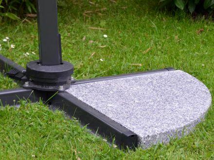 Vorschau: Beispiel universal Granitplatte in Ständerkreuz eingelegt (separat erhältlich)