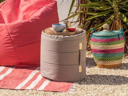 Vorschau: Ikoonz Outdoor Hocker Tub Stoff Lounge