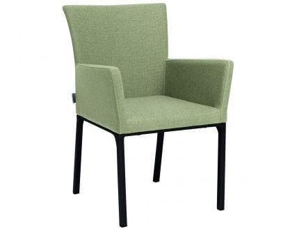 Vorschau: Stern Artus Dining-Sessel Alu-Outdoorstoff grün
