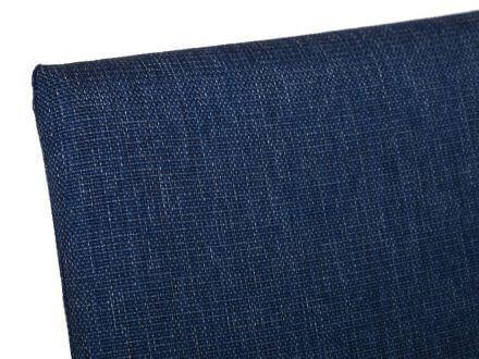 Vorschau: Alu Stapelsessel Mavi gepolstert anthrazit|blau