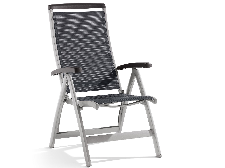sieger klappsessel royal graphit anthrazit gartenm bel l nse. Black Bedroom Furniture Sets. Home Design Ideas