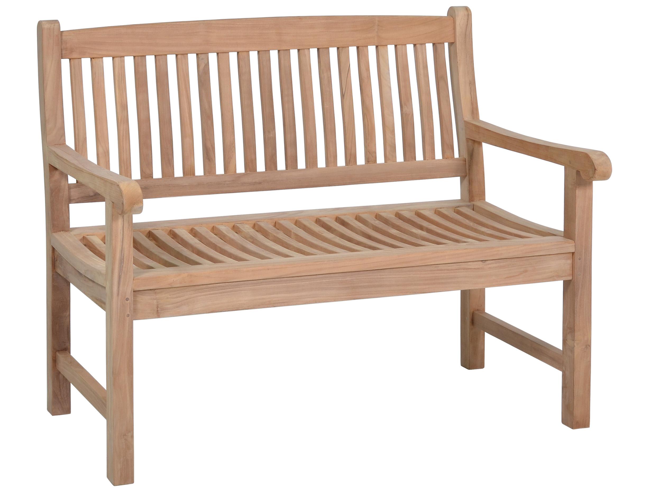 teakholz gartenbank fiona 120cm 2 sitzer gartenm bel l nse. Black Bedroom Furniture Sets. Home Design Ideas