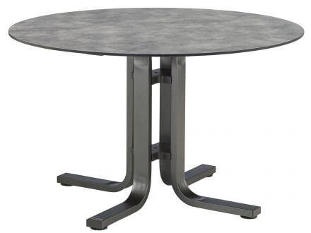 Kettler HPL Dining-Tisch Ø120cm anthrazit/anthrazit