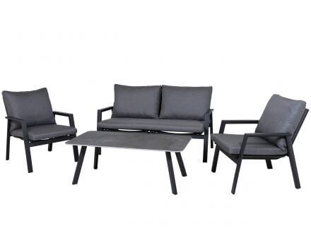 Lünse Aluminium Loungeset New Hampshire anthrazit