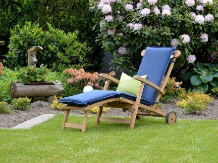 Vorschau: Deckchairauflage Malibu im Garten
