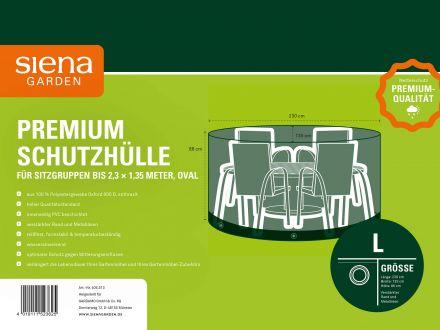 Vorschau: Siena Garden Sitzgruppen Schutzhülle oval 230x135cm Oxfordgewebe
