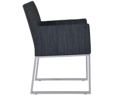 Vorschau: Outdoor Textil Dining-Sessel Legian Seitenansicht